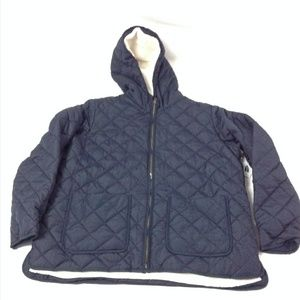 Old Navy Mens Quilted Hooded Jacket
